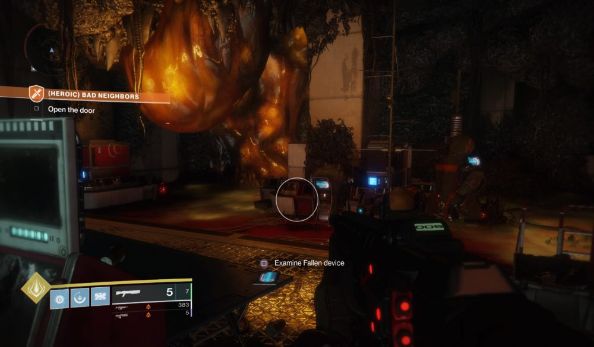 Outbreak Prime Destiny 2, start quest
