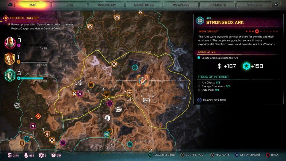 rage 2, all ark locations