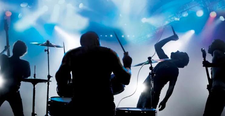 rock band, rhythm games