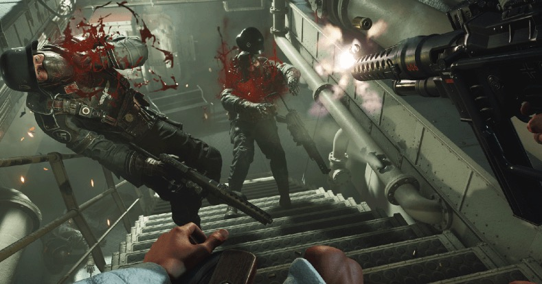 wolfenstein II: the new colossus, first-person shooters, switch