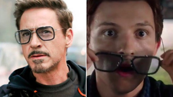 peter parker, far from home, glasses