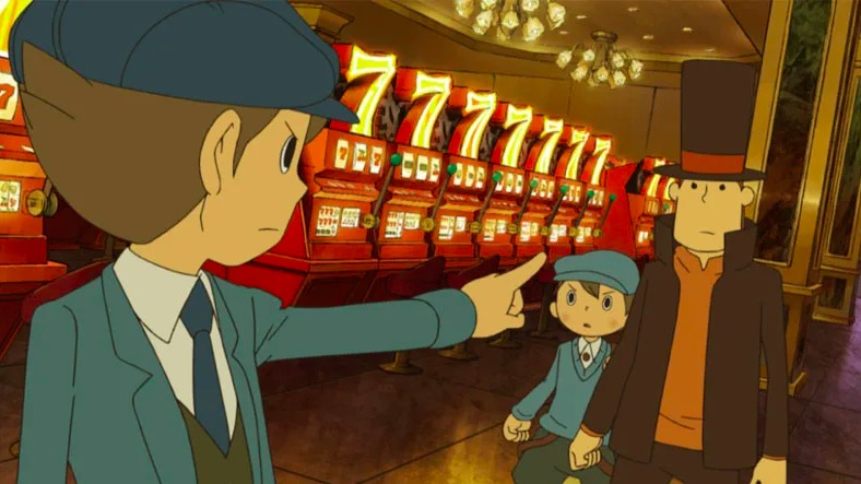 video games, professor layton and the unwound future