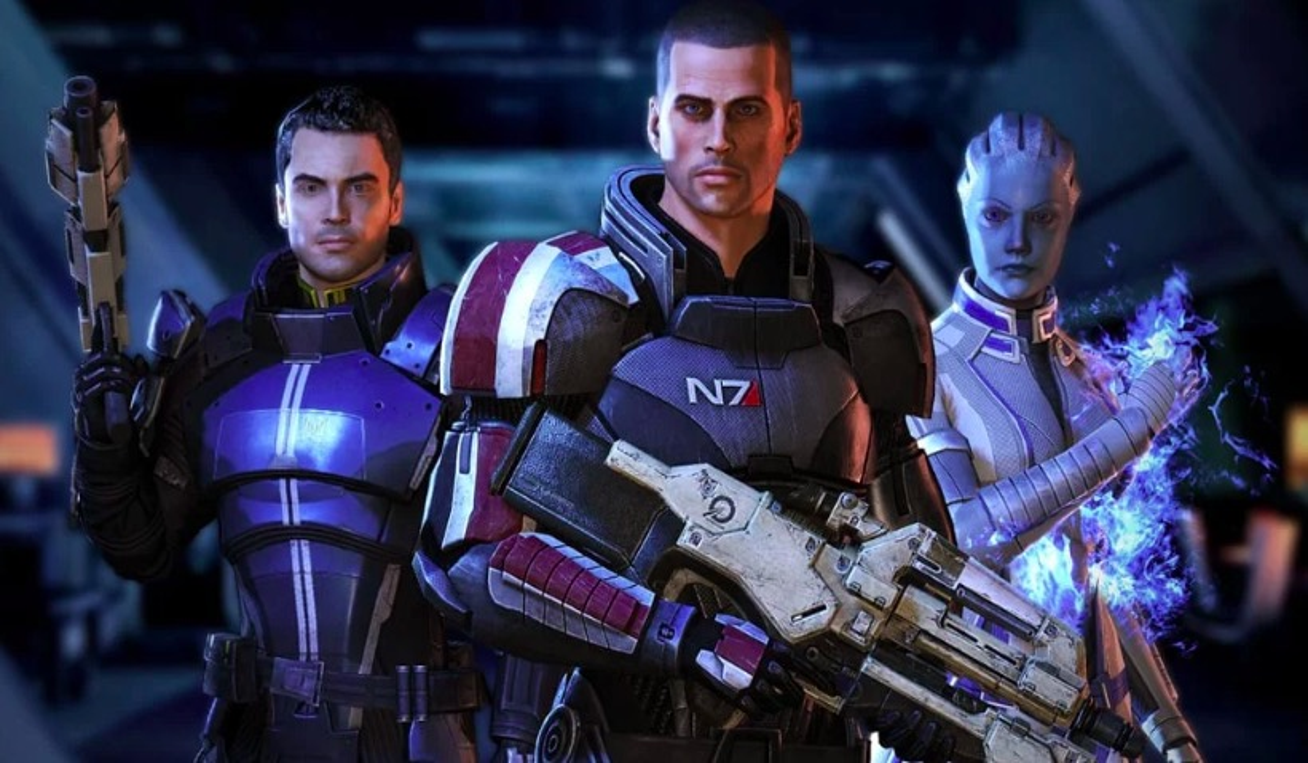 mass effect trilogy, bioware, EA