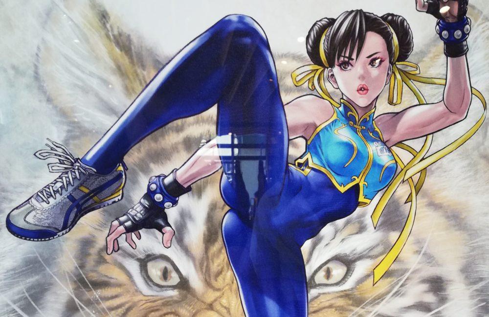 Street Fighter V Chun-Li Onitsuka Tiger