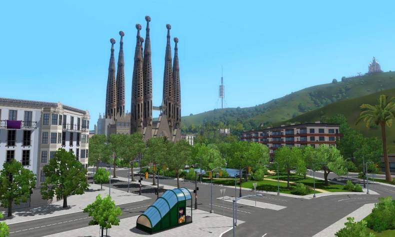 barcelona, the sims 3 custom worlds