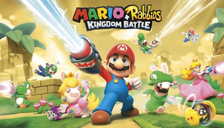 mario + rabbids, console games, mobile ports