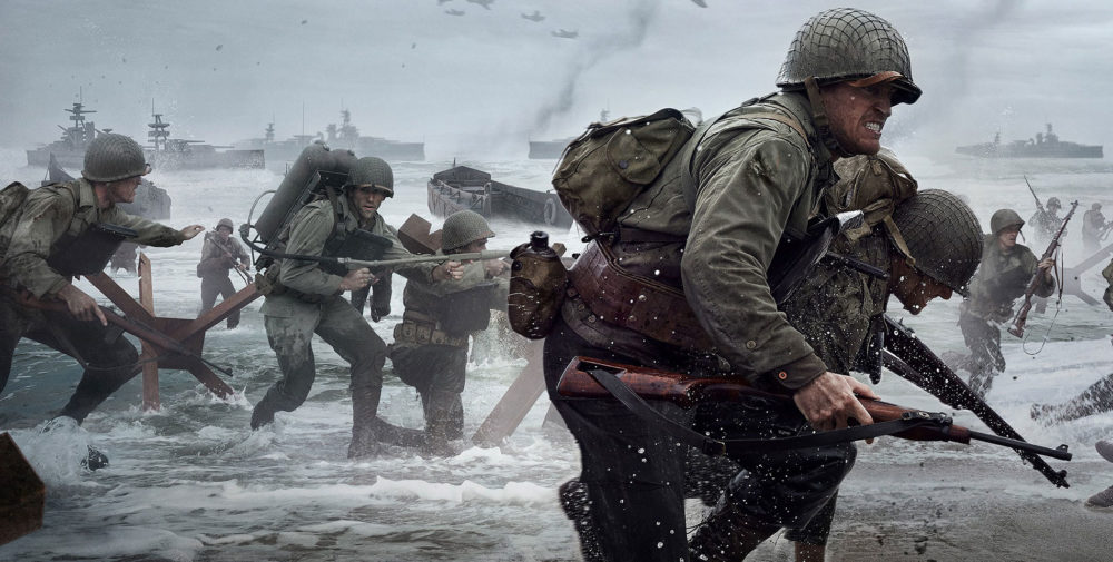 Call of Duty: WW2 10 Most Cinematic Video Games