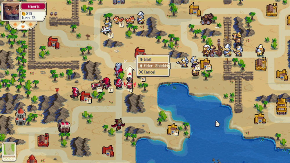 wargroove, console games that should come to mobile, mobile ports