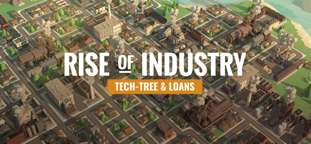 Rise of Industry, truck depots