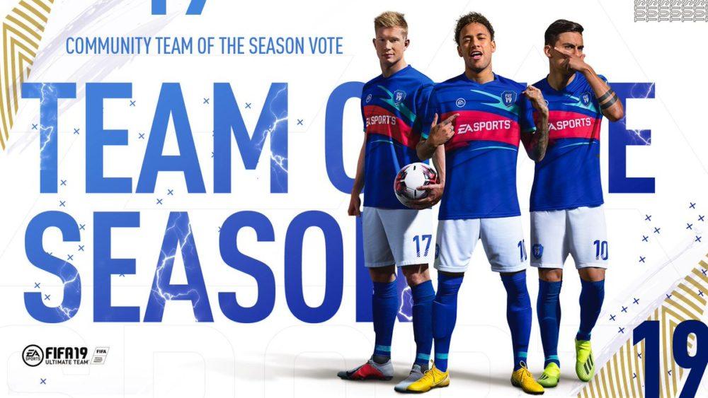 fifa 19, community team of the season, vote