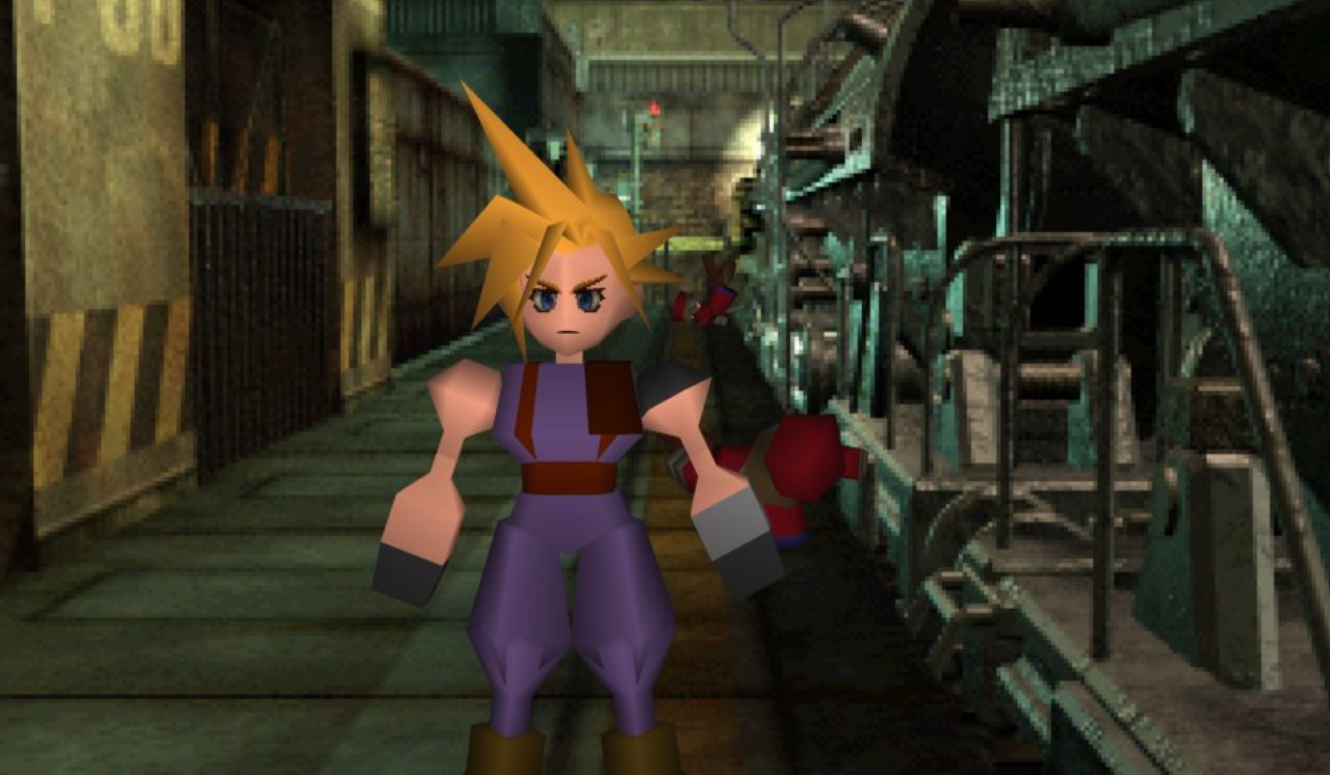 Cloud in Final Fantasy VII