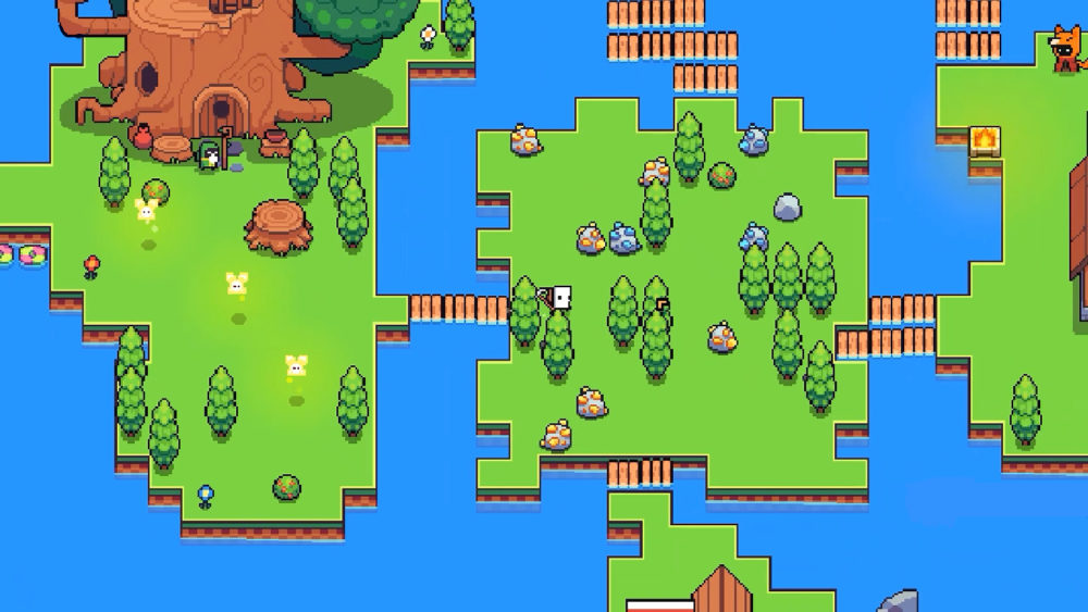 Pillars, forager, puzzle, guide