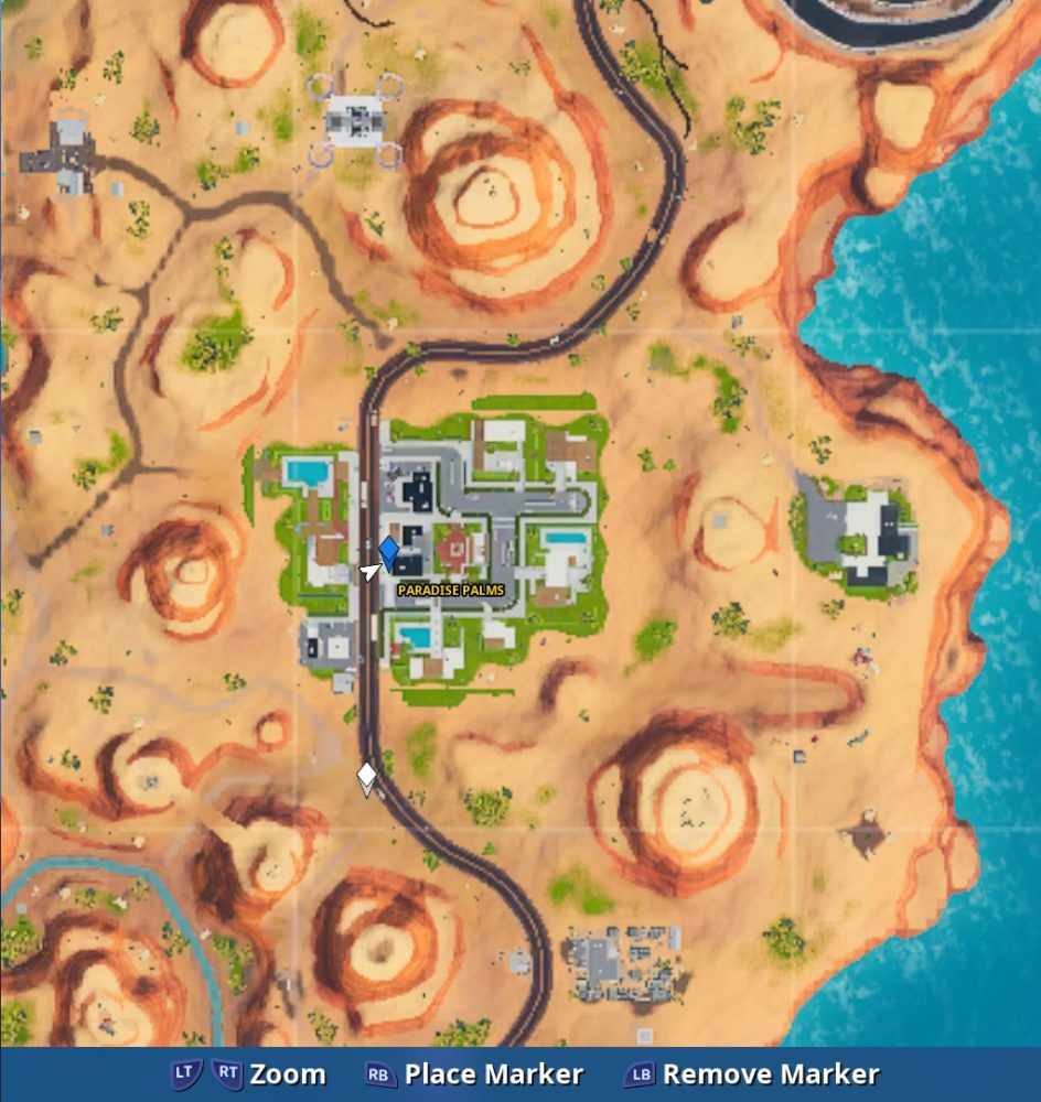 fortnite fortbyte 91 map location