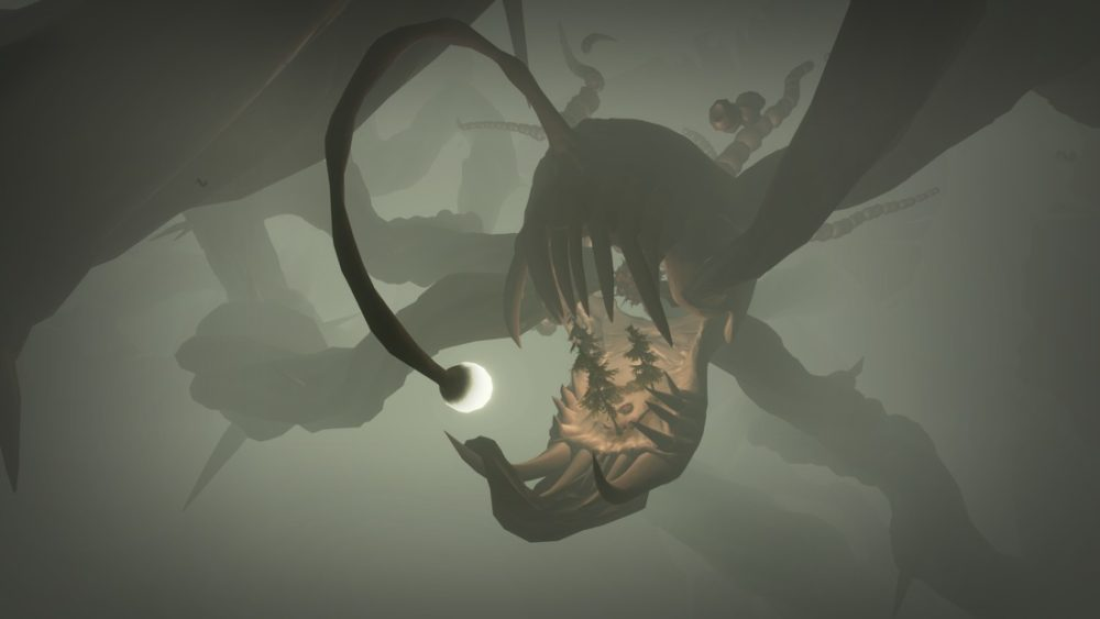 how to avoid get past anglerfish in outer wilds
