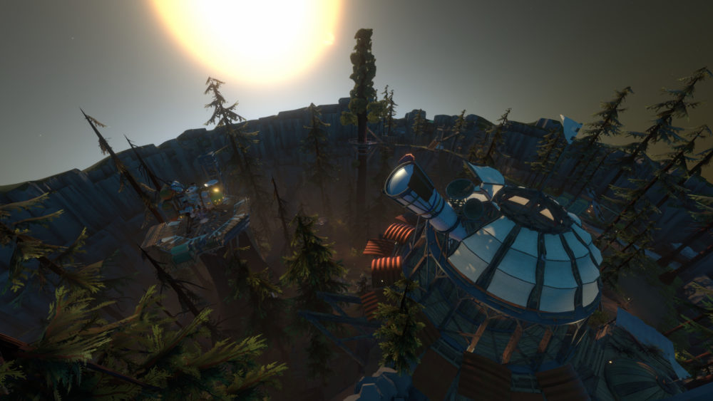 how to get inside tower of quantum knowledge in outer wilds