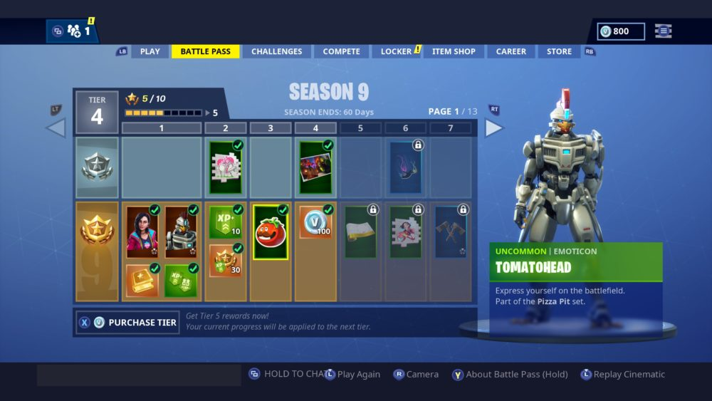 how to get tomatohead emoticon in fortnite