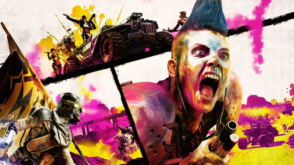 rage 2, how to melee attack