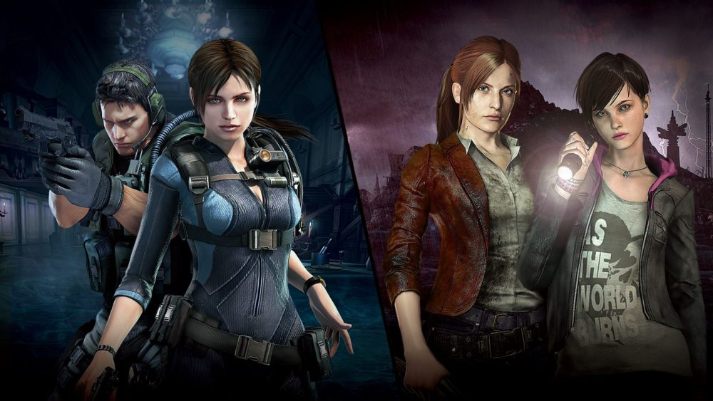 best survival horror games on switch, resident evil revelations