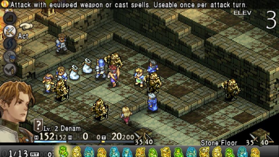 games like final fantasy tactics