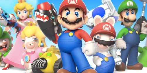 mario + rabbids, video games for mobile