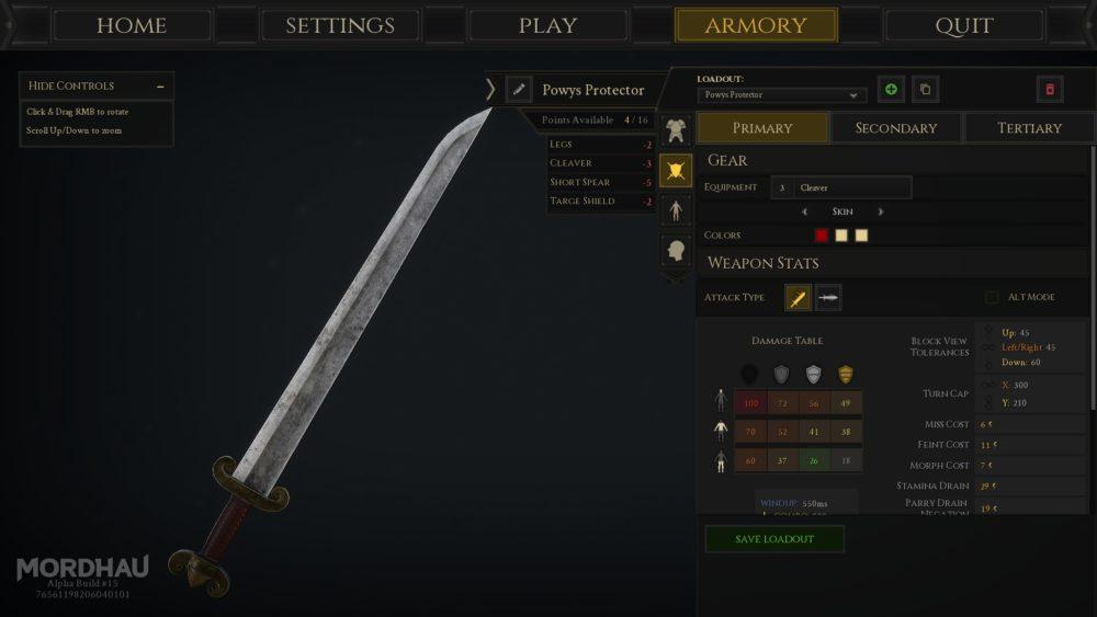 Mordhau, How to Change Weapon Skins