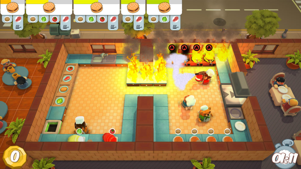 Overcooked, How Many Levels There Are