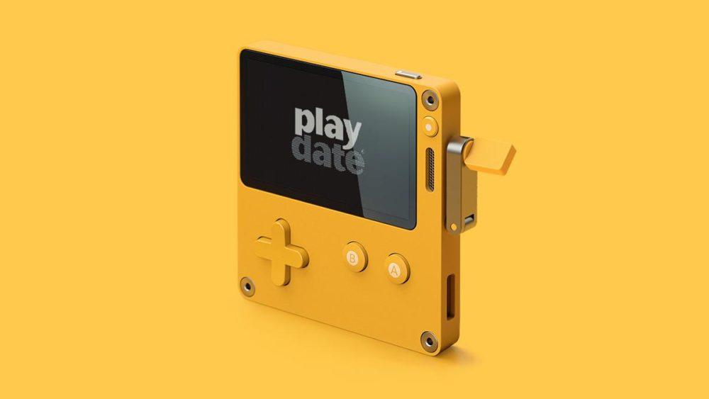 Playdate handheld console Panic Inc