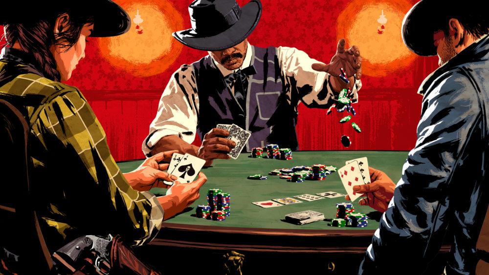 red dead online, update, poker