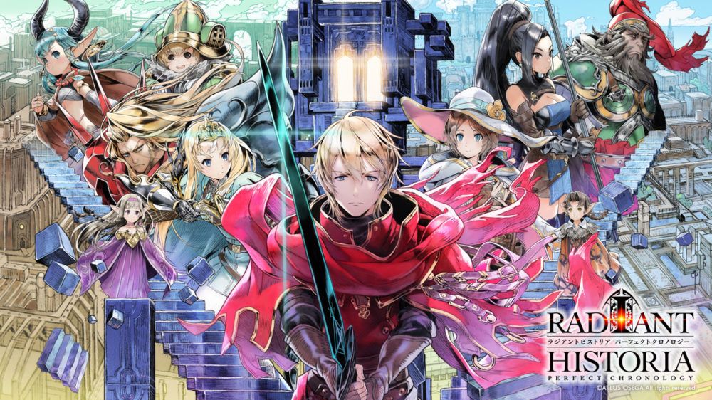radiant historia, games that deal with time traveling