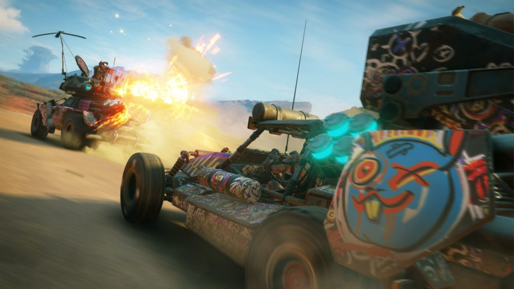 rage 2, repair vehicles, how to, fix, cars
