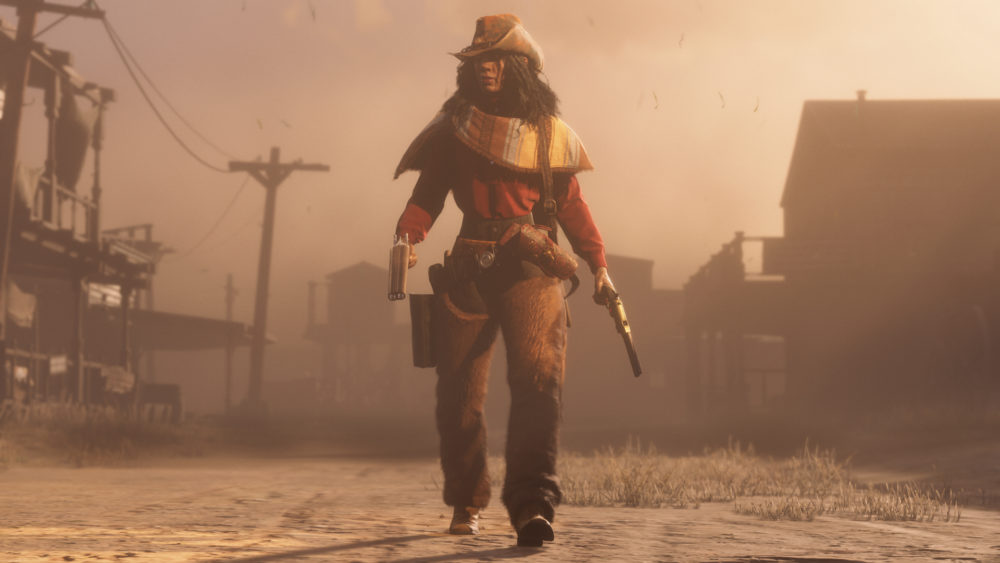 red dead online, play style, offensive, defensive, how to change