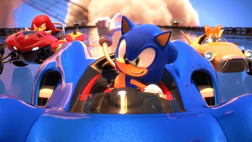 team sonic racing, charge, boost, start of race, countdown