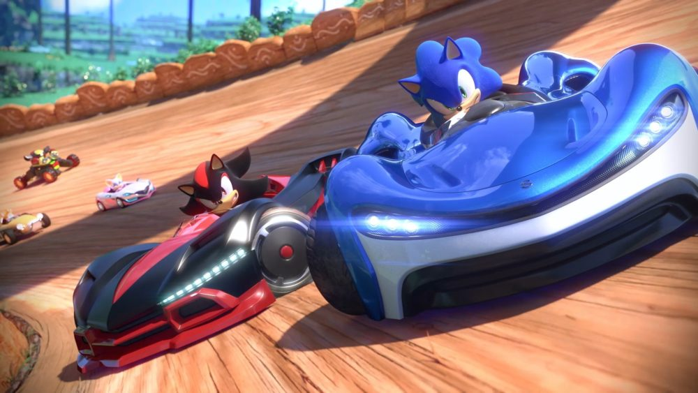 team sonic racing, items, how to use, throw behind