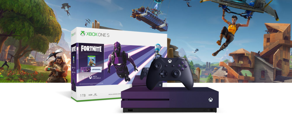 Xbox One S Fortnite Battle Royale Special Edition Bundle Coming This Friday