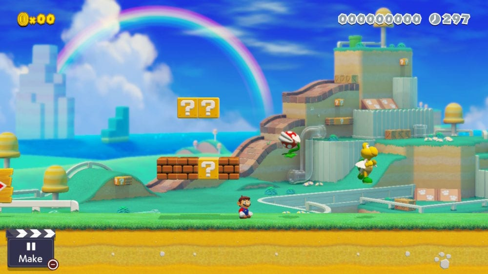 Super Mario Maker 2, flying enemies