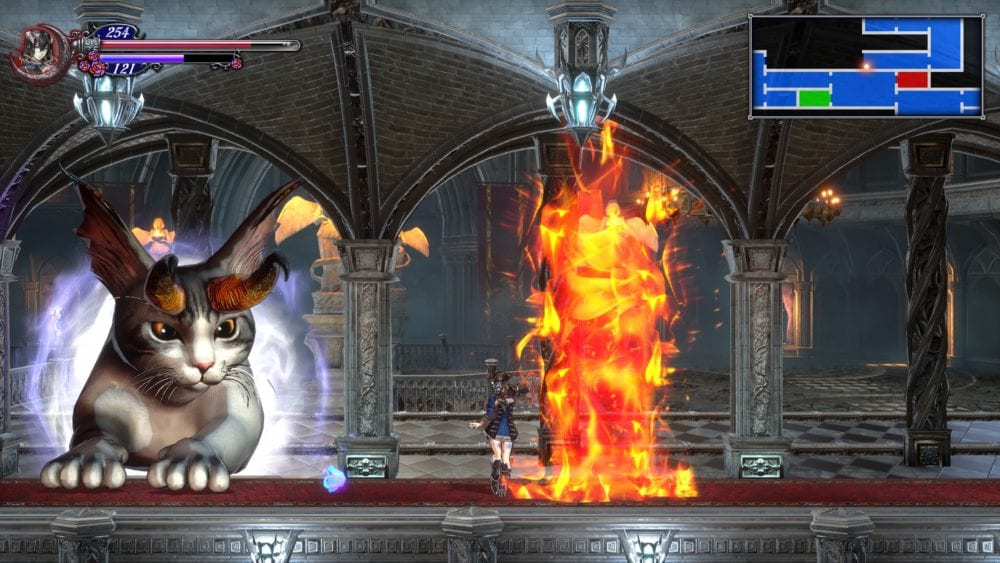 bloodstained: ritual of the night, metroidvania