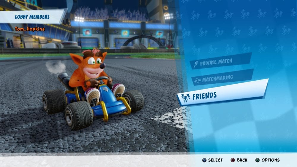 crash team racing, friends, multiplayer