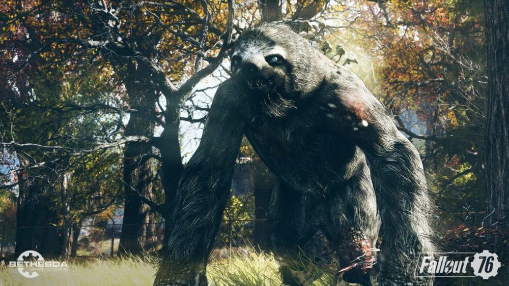 Fallout 76 Mega Sloth Locations: Where to Find Mega Sloths
