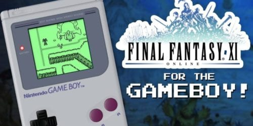 final fantasy xi adventure, gameboy