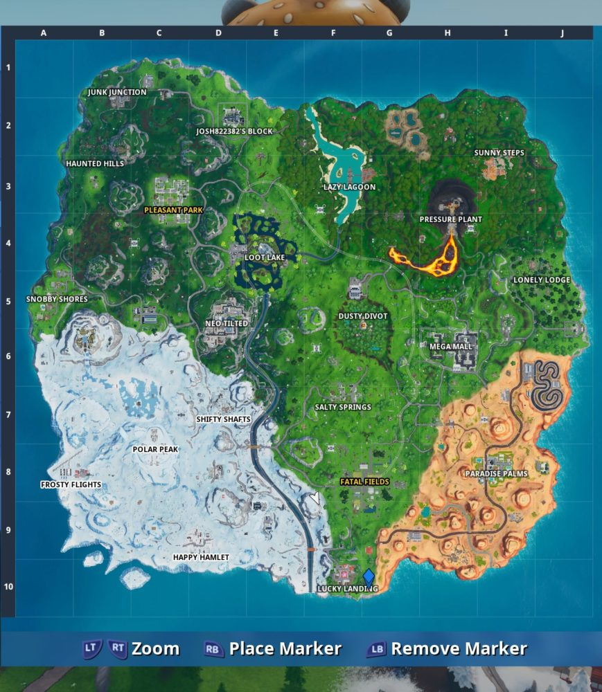 Fortbyte 69 map location