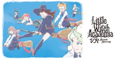 Little Witch Academia - VR Broom Racing