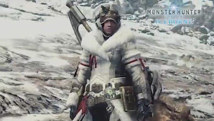 Monster Hunter: World Iceborne Direwolf Armor