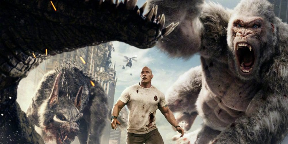 Rampage, best video game movies