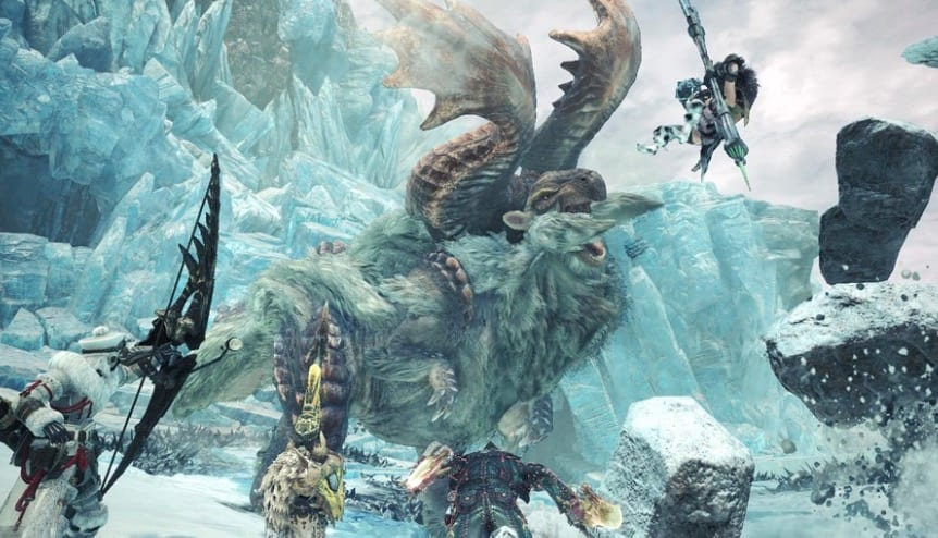Monster Hunter World Iceborne, preview. capcom