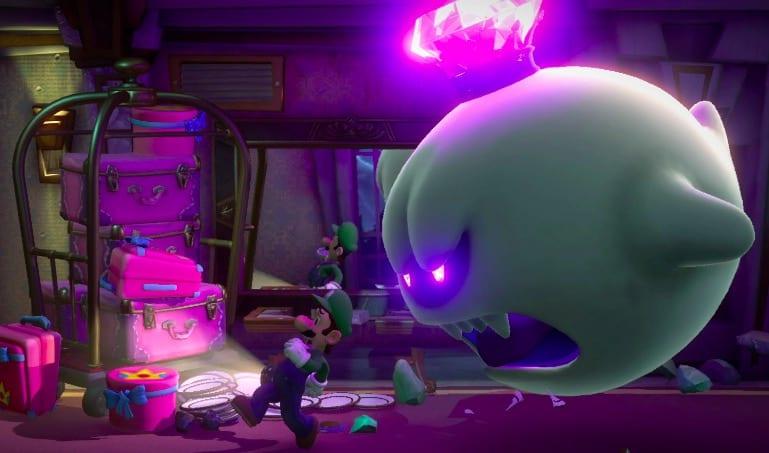 Switch, Luigi's Mansion 3