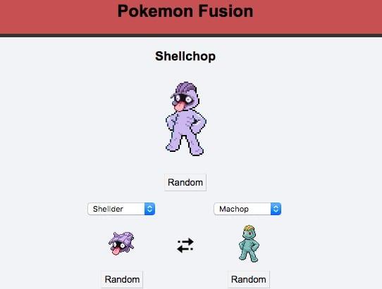 pokefusion, pokemon fusion, machop, shellder