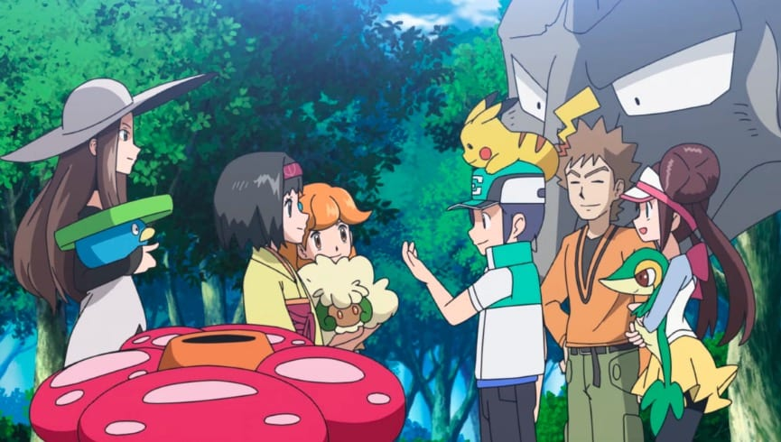 Pokemon Masters anime, mobile game