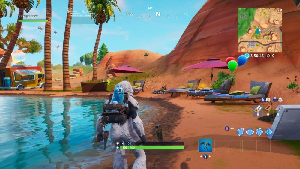 Fortnite beach party locations
