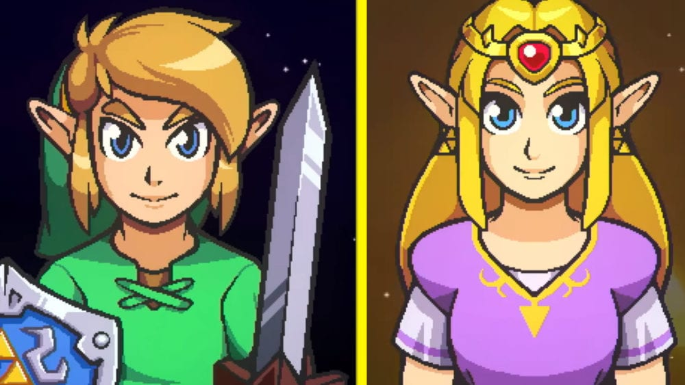 cadence of hyrule, lost woods