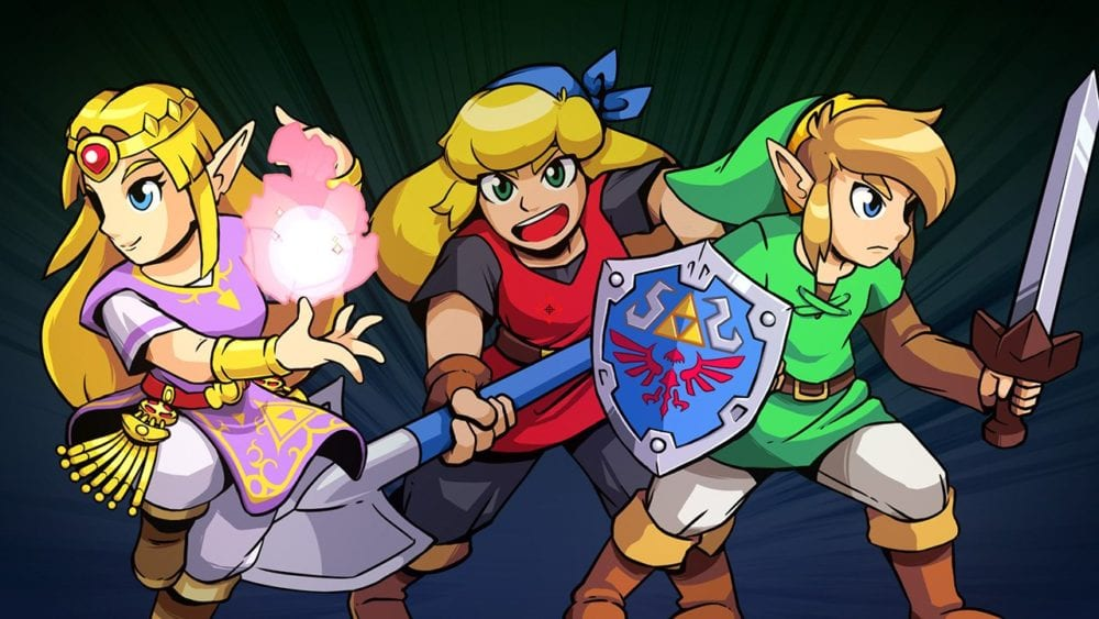 Cadence of Hyrule, multiplayer, nintendo switch, second person, nintendo switch